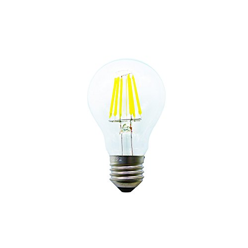Mengjay® Sostituzione 60W, bianco freddo 6000 Kelvin, 500 lumen e 360   ° angolo di visione - - lampada lampadina 6W LED MENGJAY E27 LED 1 Pack
