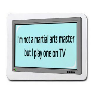 I'm not a martial arts master but I play one on TV Mousepad