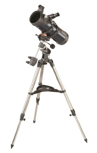Read About Celestron 31042 AstroMaster 114 EQ Reflector Telescope