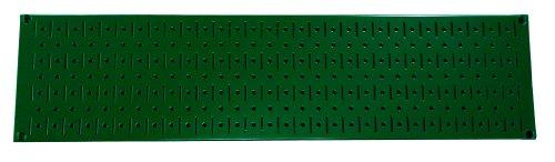 Wall Control Narrow Pegboard Rack 8In X 32In Green Metal Pegboard Runner Tool Board