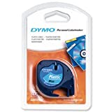 Brand New. Dymo LetraTag Tape Plastic 12mmx4m Ultra Blue Ref 91205 S0721650