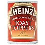 Heinz Toast Toppers Mushroom & Bacon 128g