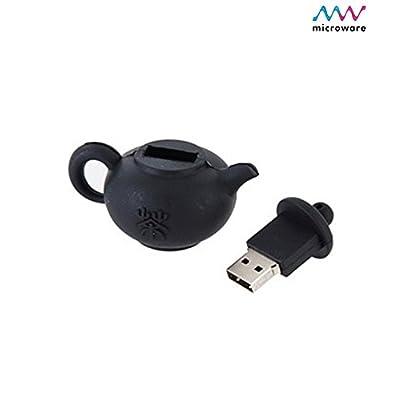 Microware 16GB Teapot Green ShMicroware Designer Pen Drive