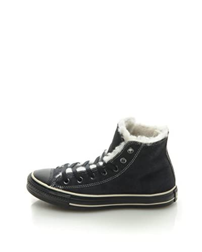 Converse Sneaker All Star Hi Suede Shearling blau