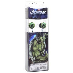 Marvel The Avengers Premium Earbuds - Incredible Hulk