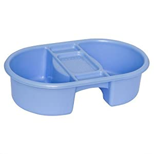 Cuenco de Plástico Strata Top & Tail Para Bebé Celeste - Baño por Strata