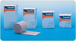 Comprilan Compression Bandage. Dimensions: 1.6