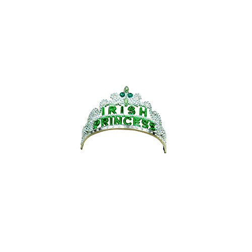 Irish St. Patricks Day Princess Tiara Ireland Costume Accessory
