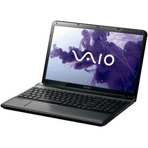 ソニー(VAIO) VAIO Eシリーズ (W8 64/Pen/15.5WXGA/4G/DVD/750G/WLAN/BT/Office) ブラック SVE15135CJB