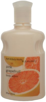 Bath & Body Works Pink Grapefruit Pleasures Collection Body Lotion 8 oz (236 ml)