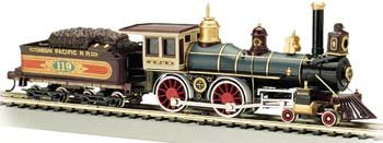 Bachmann Trains American 4-4-0 and Tender - U.P. 119 (Large Steam Engine compare prices)