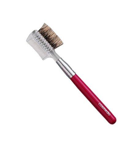 匠の化粧筆コスメ堂 熊野筆メイクブラシ ショートタイプ ブラシ&コーム