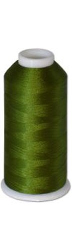 12-cone Commercial Polyester Embroidery Thread Kit - Avacado Green MD P739 - 5500 yards - 40wt