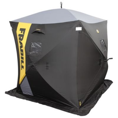Cheap cheap frabill outpost ice fishing shelter for Cheap ice fishing shelters