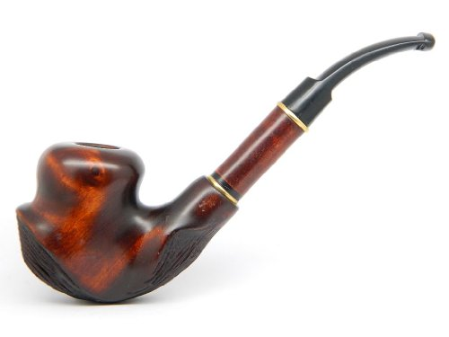 "Tobacco Smoking Pipe ""SALVADOR DALI"" Hand finished, Collectible, Limited Edition plus GIFT POUCH"