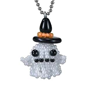 Create Your Own Miyuki Mascot Bead Charm Kit - Halloween Spooky Ghost