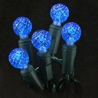 G12 Blue Led Christmas Lights - 4 Pack