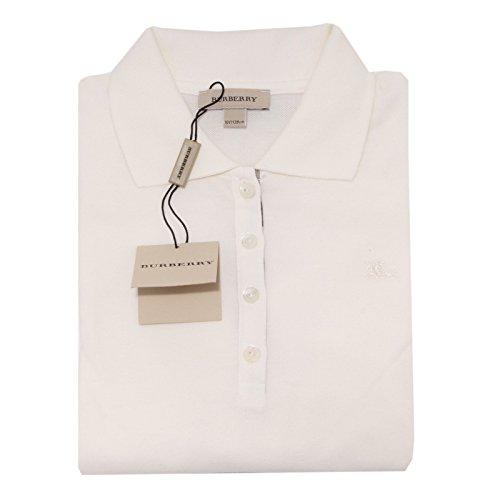 5173O polo BURBERRY COTONE MANICA LUNGA maglia bimba t-shirt kids [10 YEARS]