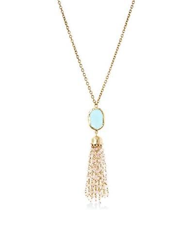 Zariin Symphony Blue Topaz Necklace