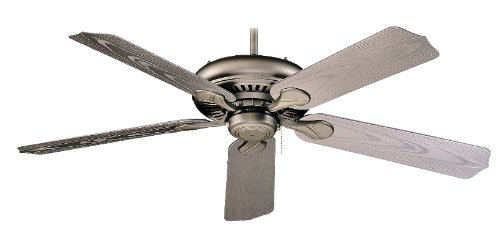 Royal Pacific 1017W-BP-ES Torrent 5-Blade 52-Inch Ceiling Fan, Brushed Pewter Grain ABS Blades For Outdoor Wet Location, Energy Star Rated