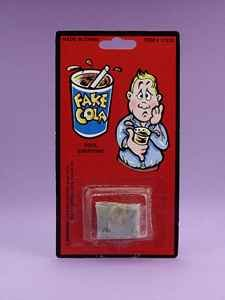 Fake Cola Novelty Toy