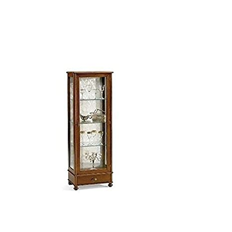 Mobile Wooden Display Cabinet cristalliera Arte povera - As Photo