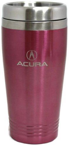 Acura Travel Mug Travel Coffee Mug Cup Stainless Steel Tea Mug Thermo - Pink