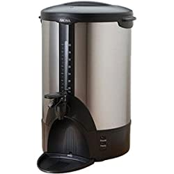 ACU-140S 40-Cup Coffee Urn, Stainless-Steel Aroma Coffee Makers from Aroma