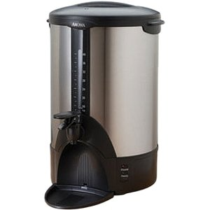 Aroma ACU-140S Stainless-Steel 40-Cup Coffee