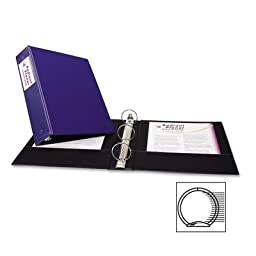 Avery® Economy Round Ring Reference Binder, 2\