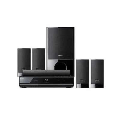 Sony BDVE300 5.1Channel HighDefinition Bluray Disc Player/DVD Disc Home theater System (Black) Picture
