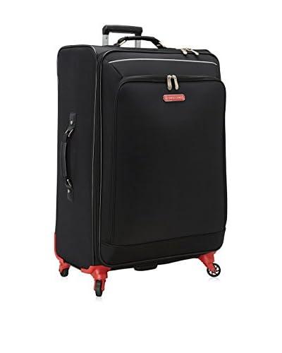 Swiss Cargo 28 Petra Spinner Luggage, Black