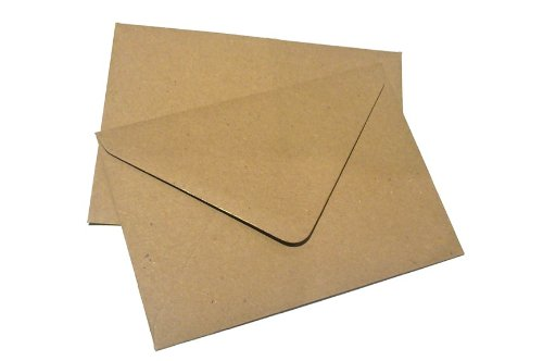 100x-c6-plain-flecked-recycled-kraft-card-envelopes-natural-brown-114x162mm-a6