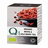 Qi Organic White Tea & Goji Berry 20 Bag x 1