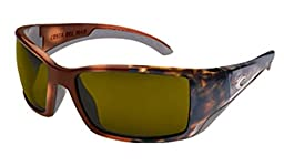 Costa Del Mar Sunglasses - Blackfin- Plastic / Frame: Tortoise Lens: Polarized Sunrise 580P Polycarbonate
