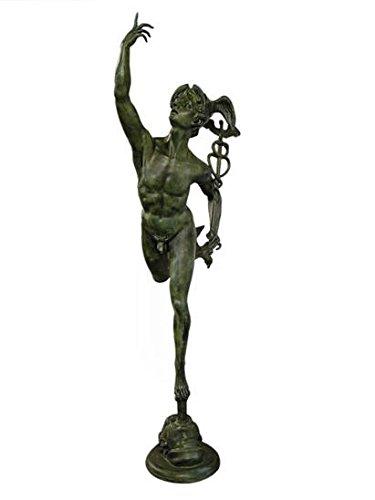 Bronzo Scultura Statua Mercury
