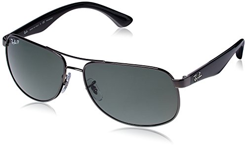 Ray-Ban Aviator Sunglasses (Gunmetal) (RB3502|004/5861)