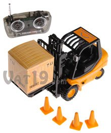 Remote Control Toy Forklift Set