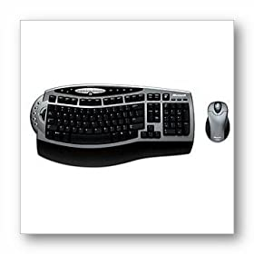 Microsoft Wireless Optical Desktop 3.0 Comfort Edition - Keyboard - wireless ( RF ) - 104 keys - Yes - mouse - RF USB / PS/2 receiver - PS/2, USB - OEM (pack of 3 )