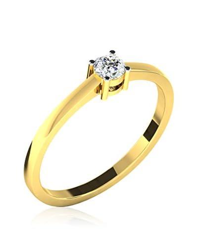 Friendly Diamonds Ring gold
