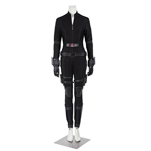 Cosplayfun Captain America Civil War Natasha Romanoff Black Widow Cosplay Costume Full Set