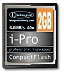 Integral 2GB 40x High Speed I-Pro Compact Flash Cards