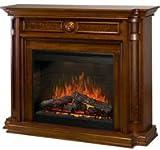 "Hartford 30"" Medium Cherry Electric Fireplace"