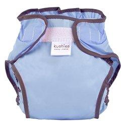 Kushies Taffeta Diaper Wrap - Toddler - Cornflower