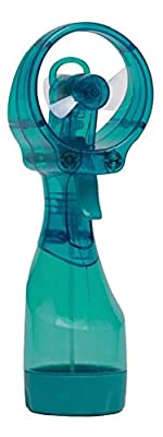 Deluxe Water Misting Fan (red)
