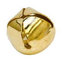 1 inch Gold Jingle Bells-Bag of 25