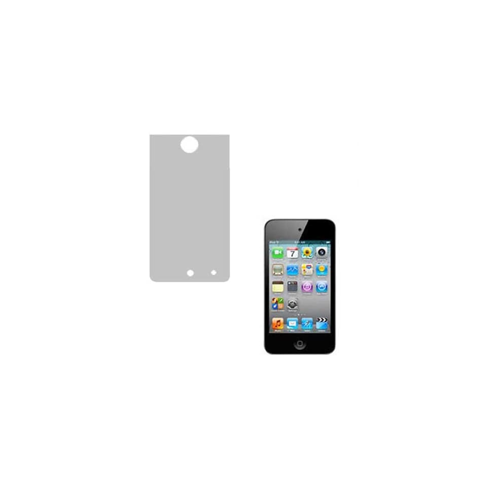 FINCIBO (TM) Custom Fit Anti Glare Screen Guard Protector Shield Film Kit For Apple iPod Touch 4 (4th Generation) Cell Phones & Accessories
