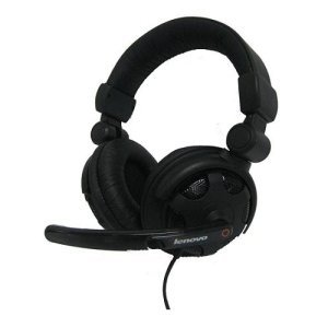 Lenovo P950 Headset. Headset P950 B Ww H-Comb. Stereo - Mini-Phone - Wired - 32 Ohm - 125 Hz-20 Khz - Over-The-Head - Binaural Snr - Semi-Open - 71' Cable - Noise Cancelling Microphone