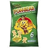 Pom-Bear Cheese & Onion Snacks 6 X 19G