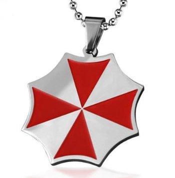 Men's Necklace Men Necklace Titanium Resident Evil Ann Bbu Leila Avira Necklace Man Pendant Fashion Necklace Gifts